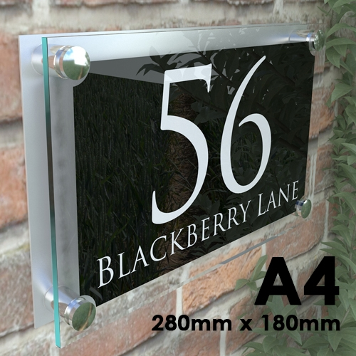A4 - Large House Signs